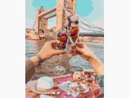 Романтика и влюбленные: картины без коробки Встреча в Лондоне