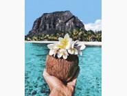 Морской пейзаж: картины без коробки Тропический отдых
