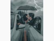 Романтика и влюбленные: картины без коробки Двое под зонтом