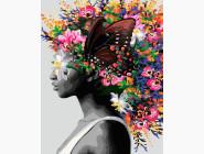 Портреты и знаменитости: раскраски без коробки Фантазия контрастов
