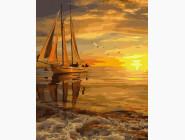 Морской пейзаж: картины без коробки Море перед штормом