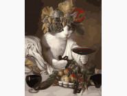 Коты и собаки: картины без коробки Дегустация вина