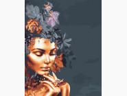 Абстрактные картины без коробки Золотой цветок