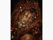 Животные: картины без коробки Львиная красота