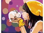 Девочка с кроликом