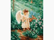 Ангелочек в лесу