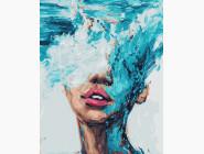 BRM21530 Раскраски по номерам Стихия воды