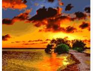Золотые краски заката