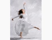 Портреты, люди на картинах по номерам Танцующая балерина