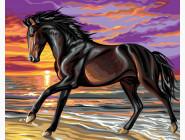 Животные и рыбки Грациозная лошадь