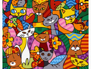 Кошачье многоцветие