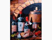 Картины по номерам для кухни Винный натюрморт