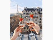 Романтика, любовь Шампанское и клубника