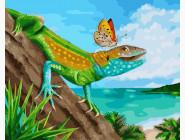 Тропическая ящерица
