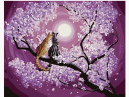 Мартовские кошки на сакуре
