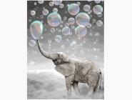 Слон в пузырях