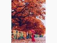 Портреты, люди на картинах по номерам Осенняя панна