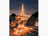 Ночные крыши Парижа