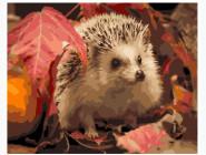 Ёж в листьях