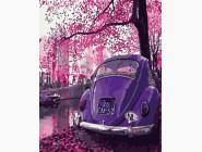 Пейзаж в пурпурных тонах