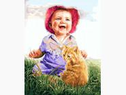 Малыш и рыжий котик