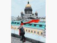 Красный шарф Путешественник