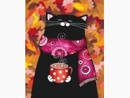 Котик с какао