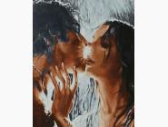 Романтика, любовь Страстный поцелуй