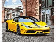 Желтое авто