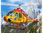 Космос, машины, самолеты Вертолет в Альпах