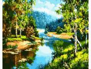 Пейзаж и природа Солнечный день