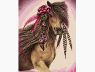 Лошадь с цветком