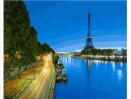 Париж Вечер
