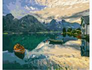 Пейзаж и природа Вид на озеро Комо
