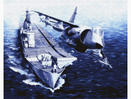 Самолет и корабль