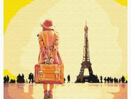 Путешественница в Париже