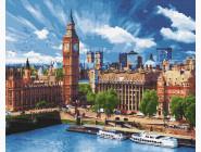 Городской пейзаж Солнечный Лондон