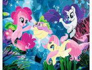 Картины по номерам для детей My Little Pony
