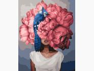 Портреты, люди на картинах по номерам Пионы, художник Эми Джадд