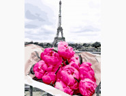 Цветы, натюрморты, букеты Пионы в Париже