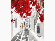 Городской пейзаж Цветущая Греция