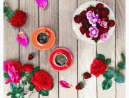Картины по номерам для кухни Розовый фретлэй