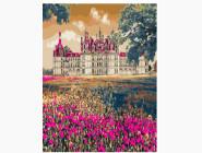 Замок в цветах