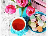 Макаруны с чаем