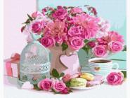 Цветы, натюрморты, букеты Ароматное утро