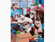 Коты и собаки Кошкин дом