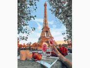 Городской пейзаж Весна в Париже