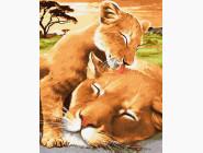 Львёнок с мамой