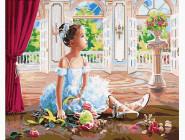 Балерина с цветами