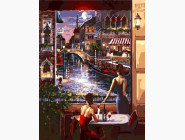Вид на ночную Венецию